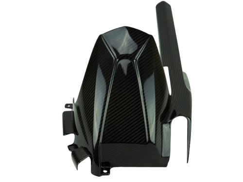 Rear Hugger in Glossy Twill Weave Carbon Fiber for Suzuki GSX-S750 2018+