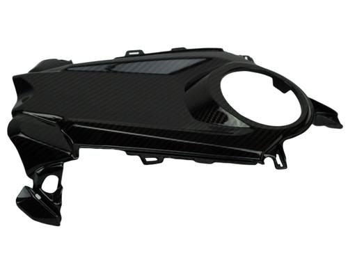 Tank Cover in Glossy Twill Weave Carbon Fiber for Honda CBR1000RR 2017+