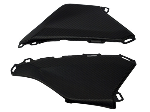 Under Tank Panels in Matte Twill Weave Carbon Fiber for Honda CBR1000RR 2017+