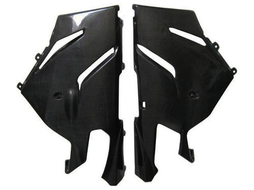 Glossy Plain Weave Carbon Fiber  Belly Pan for Aprilia RSVR 06-09