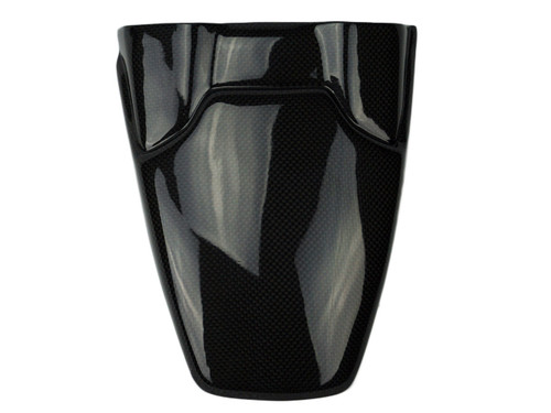 Rear Hugger Extension in Glossy Plain Weave Carbon Fiber for Yamaha FZ-07/ MT-07 2015+