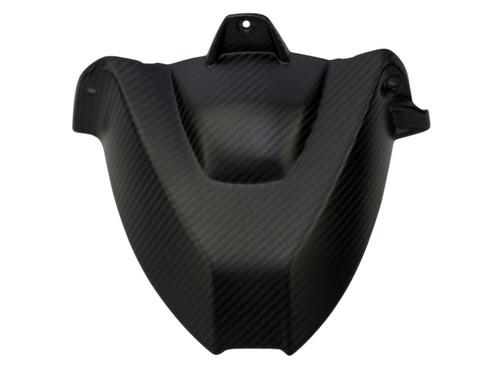 Rear Hugger w/o cutout in Matte Twill Weave Carbon Fiber for BMW S1000RR, S1000R