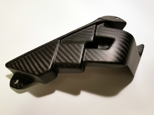 ECU Cover in Matte Twill Weave Carbon Fiber for Yamaha FZ-10-MT-10