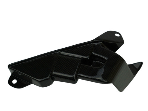 ECU Cover in Glossy Plain Weave Carbon Fiber for Yamaha FZ-10-MT-10