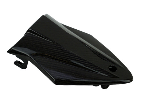 Seat Cowl in Glossy Twill Weave Carbon Fiber for BMW S1000RR, S1000R 2015-2018