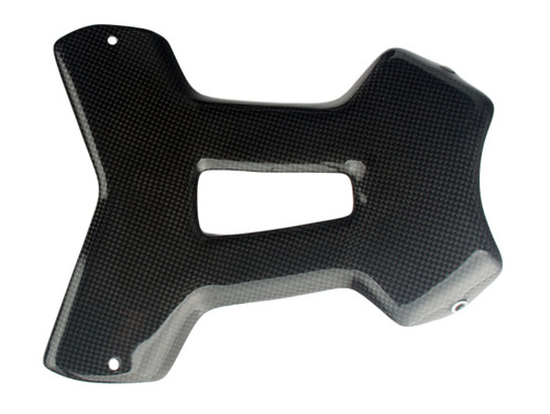 Belly Pan Center Piece in Glossy Plain Weave Carbon Fiber for Yamaha MT-01 2006-2010
