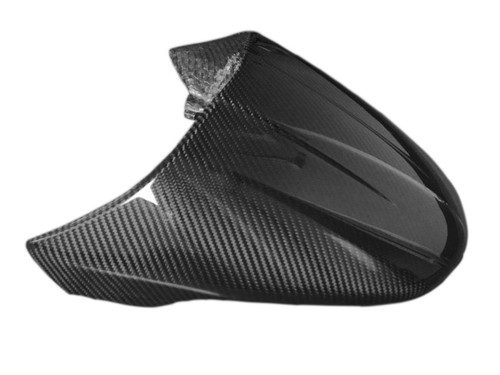 Center Tail Fairing in Glossy Twill Weave Carbon Fiber for Ducati Scrambler Cafe Racer