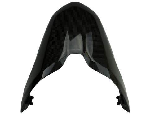 Tail Cover in Glossy Plain Weave Carbon Fiber for Ducati Monster 797