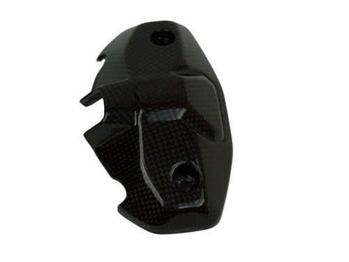 Instruments Back Cover in Glossy Plain Weave Carbon Fiber for Ducati Monster 797, 821, 1200 & 1200S 2017+