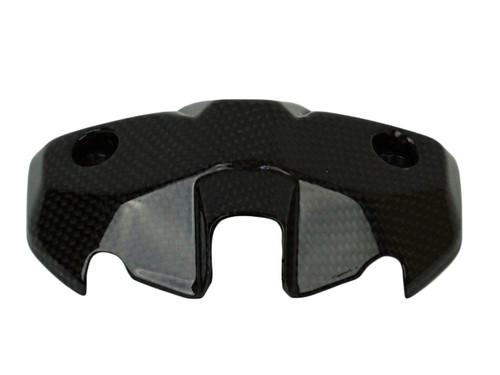 Instruments Back Cover in Glossy Plain Weave Carbon Fiber for Ducati Monster 797, 821, 1200 & 1200S 2017+