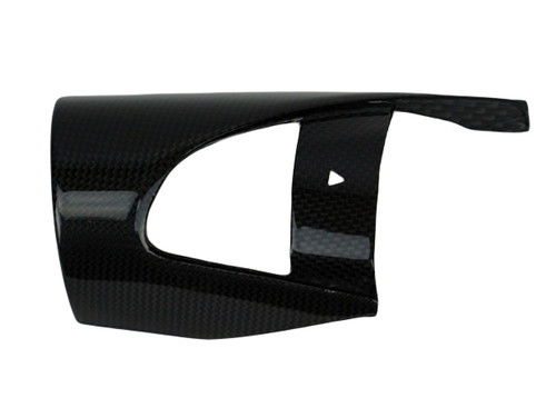 Intake Snorkel Cover (right side) in Glossy Plain Weave Carbon Fiber for BMW R nineT 2013 - 2015