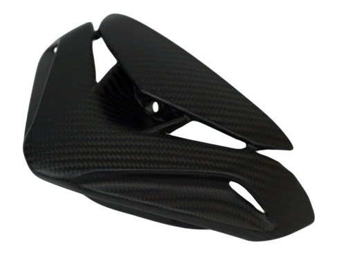 Cockpit Cover in Glossy Twill Weave Carbon Fiber for MV Agusta Brutale 800 2016+