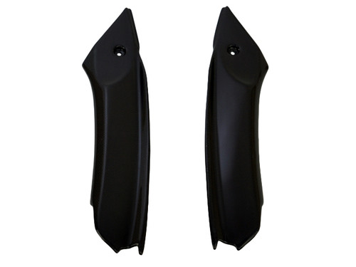 Cockpit Infill Panels in Glossy Twill Weave Carbon Fiber for Triumph Daytona 675 09-12