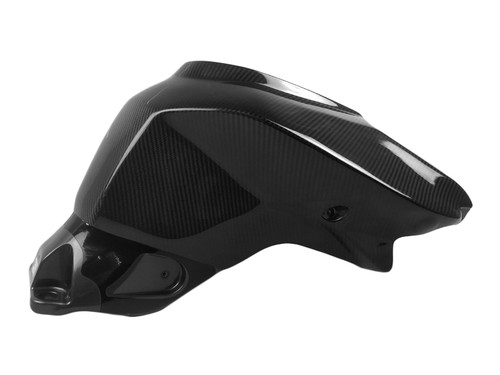 Full Tank Cover in Glossy Twill Weave Carbon Fiber for KTM 1290 Super Duke R