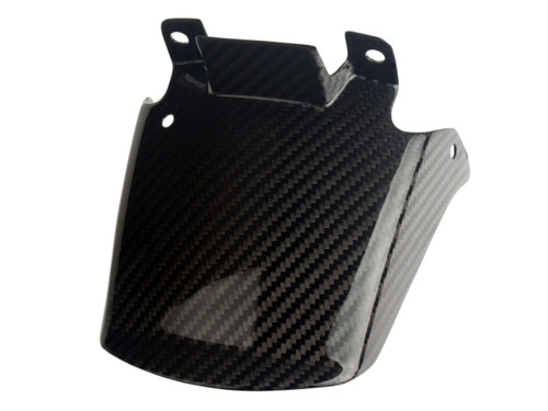 Front Fender Extension in Glossy Twill weave Carbon Fiber for Ducati Multistrada 1200 Enduro