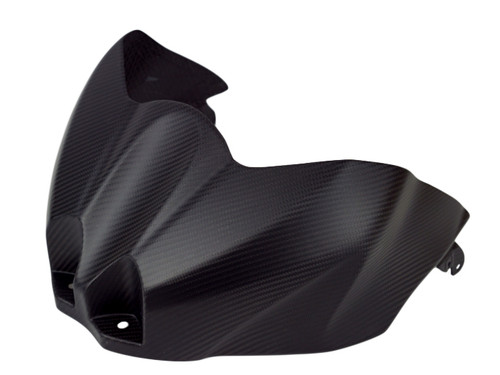 Tank Cover in Matte Twill Weave Carbon Fiber for Suzuki GSX-R1000 2017+