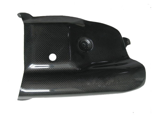 glossy Plain Weave Carbon Fiber Belly Pan Centre for Ducati Multistrada 1200