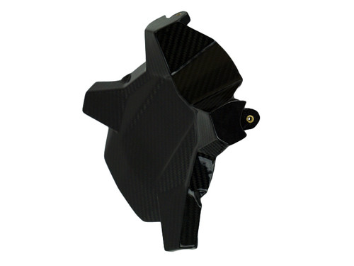 Belly Pan Mount in Glossy Twill Weave Carbon Fiber for KTM 1290 Super Duke GT