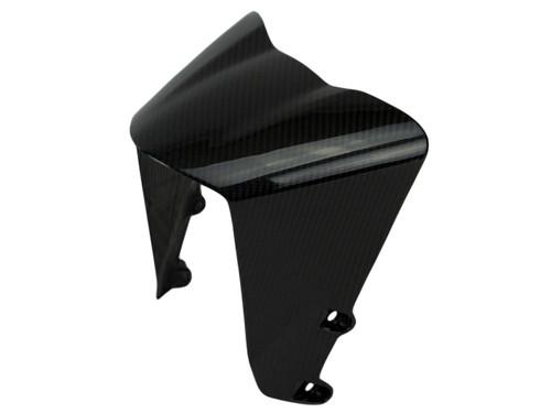 Front Fender ( front part ) in Glossy Twill Weave Carbon Fiber for KTM RC390, Duke 390 2017+