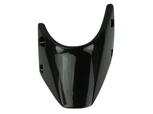 Rear Hugger in Glossy Twill Weave shown for KTM RC390 .