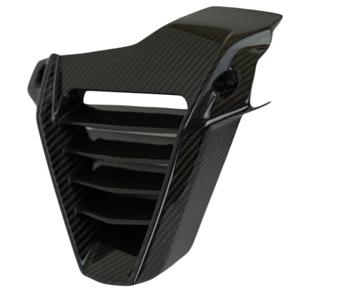 Belly Pan in Glossy Twill Weave Carbon Fiber for KTM RC390