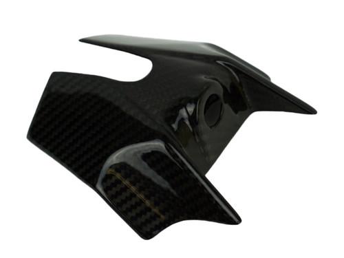 Key Cover in Glossy Twill Weave Carbon Fiber for KTM Duke 390 2017+