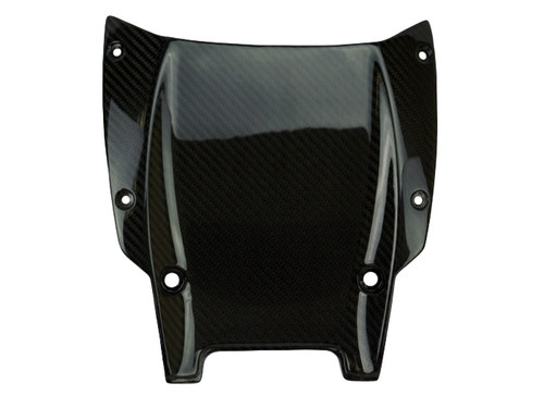 Undertray in Glossy Twill Weave Carbon Fiber for Ducati XDiavel
