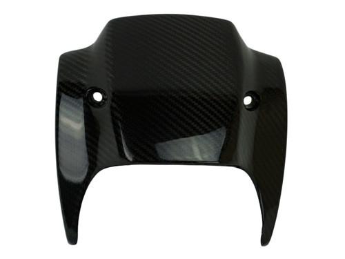 Windscreen in Glossy Twill Weave Carbon Fiber for Harley-Davidson V-Rod 2012-2017 except VRSCF