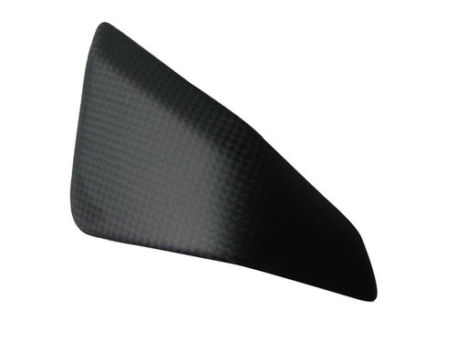 Matte Plain Weave Carbon Fiber Triangle (left side) for Ducati Panigale 899, 959, 1199
