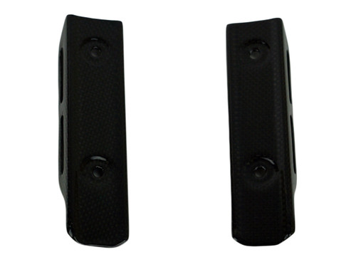 Radiator Covers in Matte Plain Weave Carbon Fiber for Kawasaki Z900RS