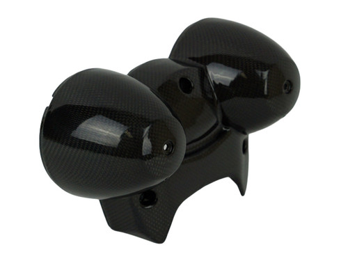 Instruments Housing in Glossy Plain Weave Carbon Fiber for Kawasaki Z900RS