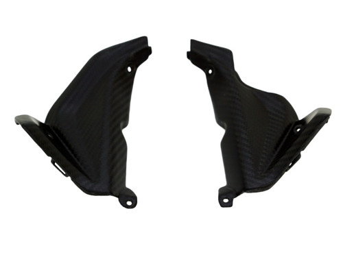 Dash Panels in Glossy Twill Weave Carbon Fiber for Aprilia Tuono V4 2015-2016