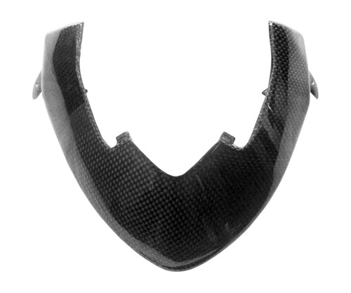 Cockpit Cover Frame for Ducati Streetfighter in Glossy Plain Weave Carbon Fiber