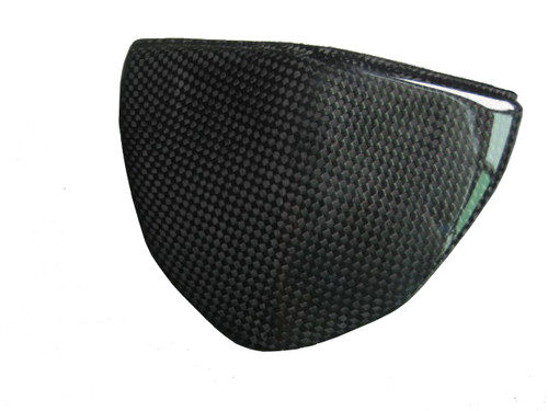 Instrument Cover for Ducati Streetfighter in Glossy Plain Weave Carbon Fiber