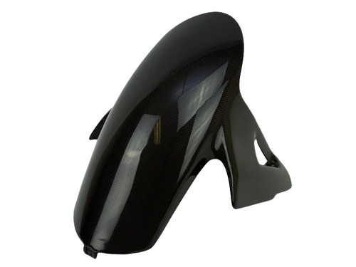 Front Fender in Glossy Plain Weave Carbon Fiber for Ducati Panigale V4