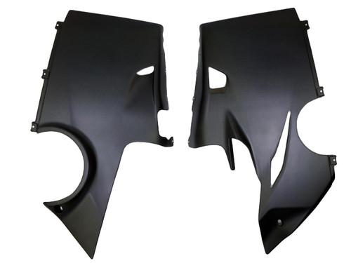 Belly Pan in Matte Plain Weave Carbon Fiber for Ducati Panigale V4