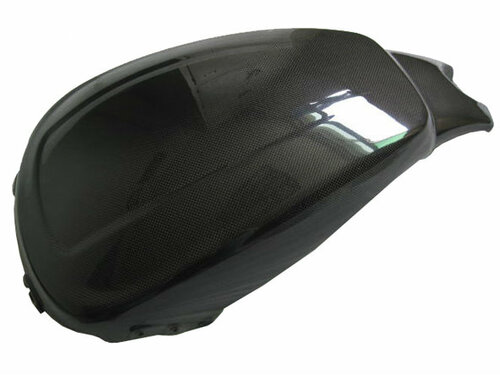 Airbox Cover for Harley-Davidson VRSCF V- Rod Muscle in Glossy Plain Weave Carbon Fiber
