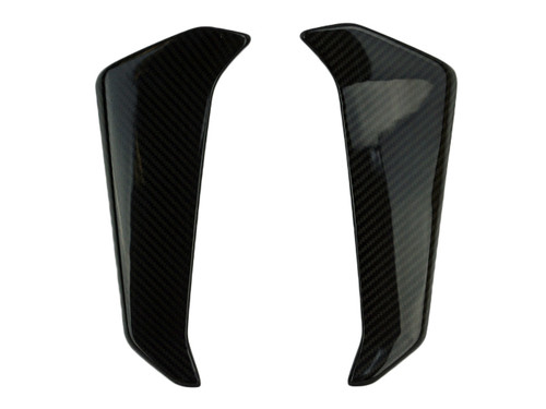Radiator Sides in Glossy Twill Weave Carbon Fiber for Yamaha FZ-09-MT-09 2017+