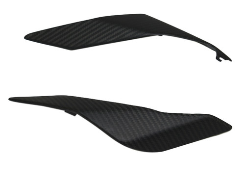 Tail Fairings in Matte Twill Weave Carbon Fiber for Yamaha FZ-10-MT-10