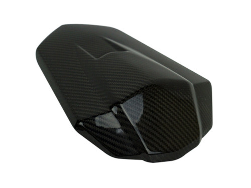 Seat Cowl in Glossy Twill Weave shown for Honda CBR1000RR 2017+.
