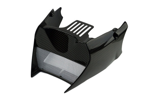 Glossy Twill Weave Carbon Fiber Lower Spoiler for KTM Superduke / R 990 2004 - 2013