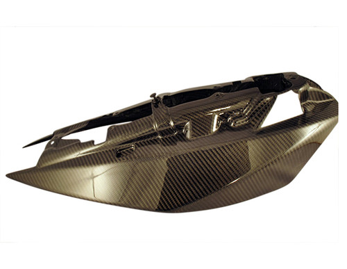 Glossy Twill Weave Carbon Fiber Tail Side Fairings for KTM Superduke / R 990 2004 - 2013