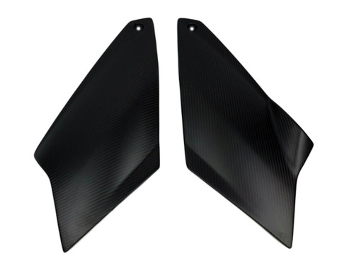 Tank Covers in Matte Twill Weave Carbon Fiber for KTM Superduke / R 990 2004 - 2013