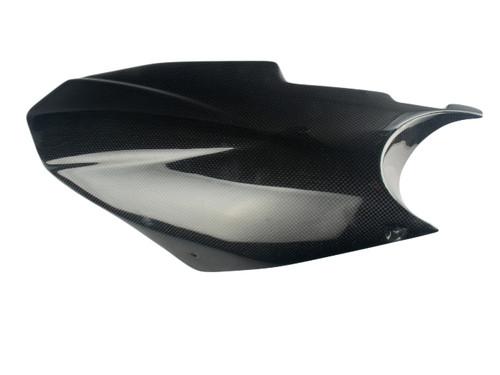Rear Hugger ( Long version) in Glossy Plain Weave Carbon Fiber for Triumph Street Triple 2013-2016