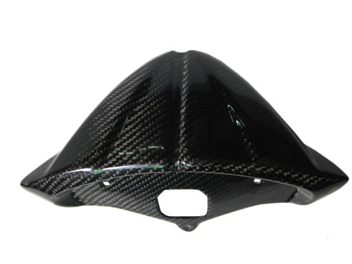 Glossy Twill Weave Carbon Fiber Clock Support for Ducati 1198,1098, 848