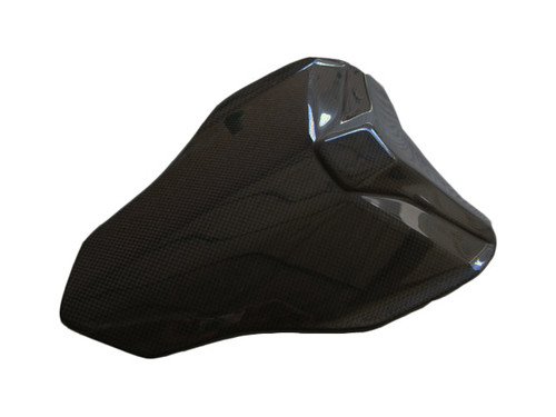 Seat Cover for Ducati 1198,1098, 848 in Glossy Plain Weave Carbon Fiber