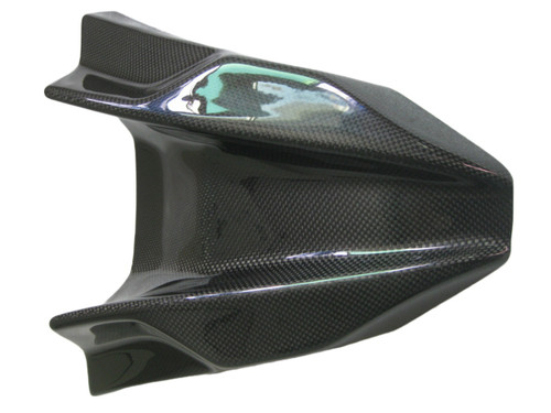 Windscreen in Glossy Plain Weave Carbon Fiber for Kawasaki Versys 650 2010-2014