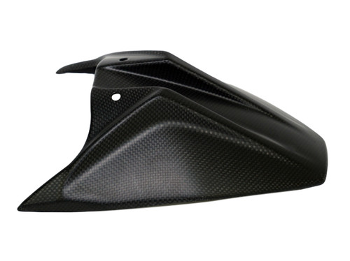Rear Hugger in Matte Plain Weave Carbon Fiber for KTM Duke 790