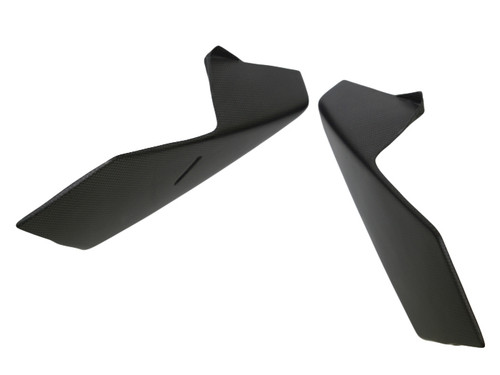 Side Panels in Matte Plain Weave Carbon Fiber for KTM Duke 790