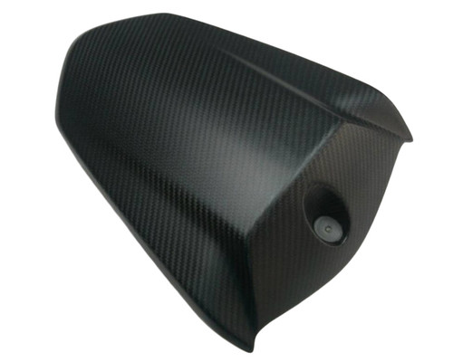 Seat Cover in Matte Twill Weave Carbon Fiber for KTM 1290 Super Duke R